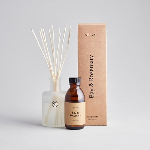 st eval bay and rosemary reed diffuser gift set