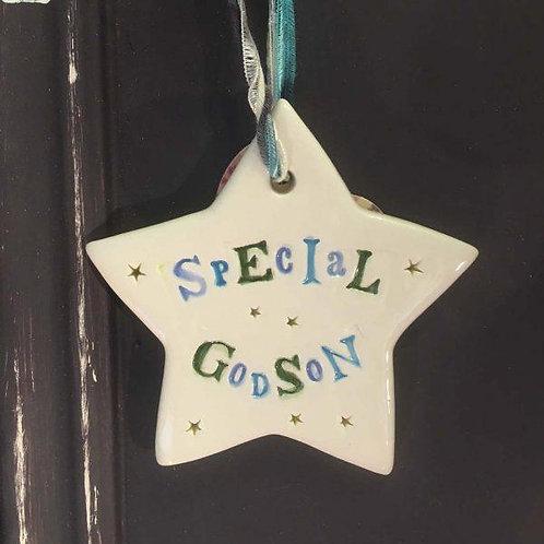 Special Godson Ceramic Star