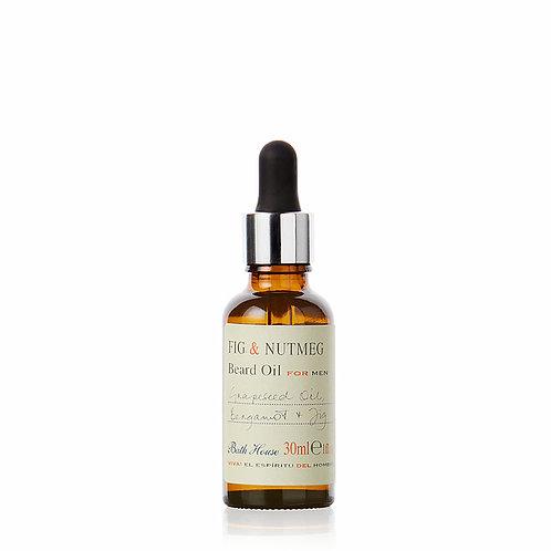 fig and nutmeg beard oil