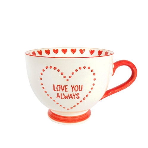 love you always mug by sass and belle
