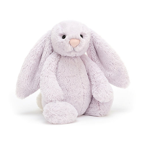 jellycat bashful bunny in lavender colour