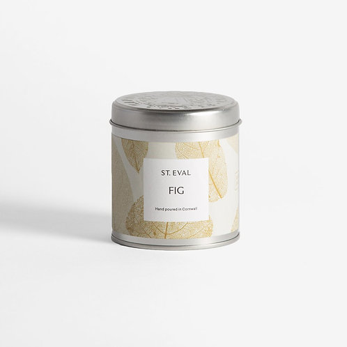Fig fragrance tinned candle by st eval