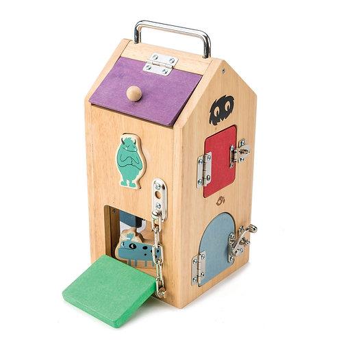 Tenderleaf lock box educational toy