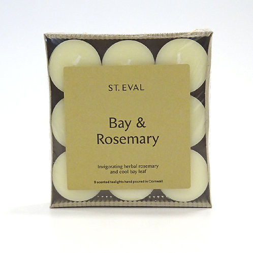 st eval bay and rosemary tealights