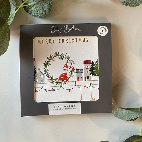 Eld Christmas Cards by Belly Button
