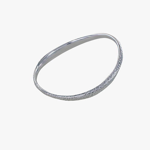reeves and reeves driftwood silver bangle