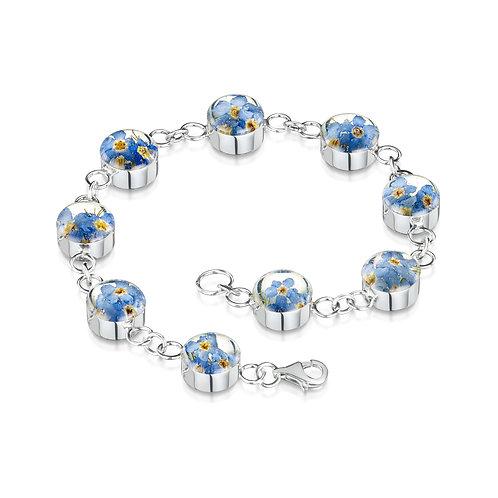 sterling silver bracelet form shrieking violet