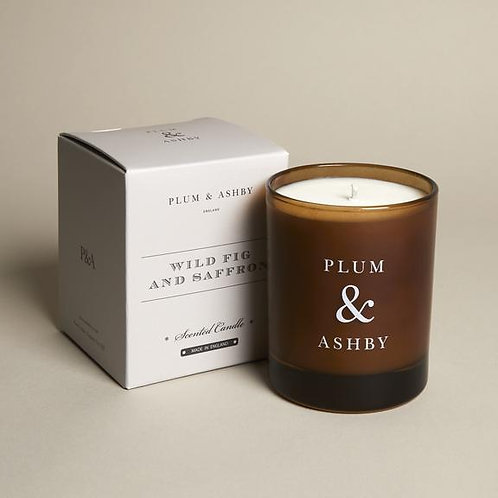 plum and ashby wild fig and saffron candle