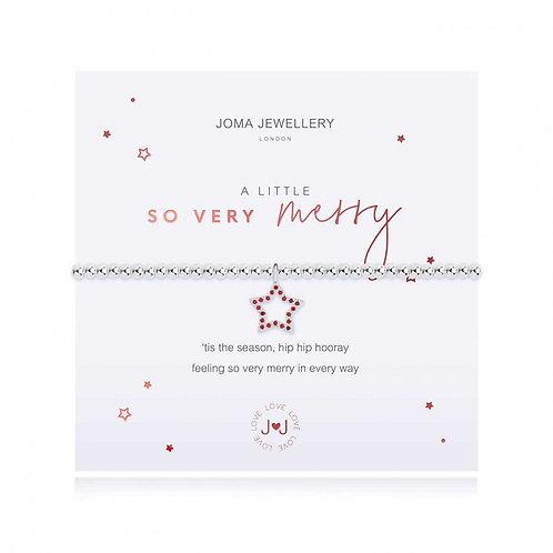 so very merry bracelet by joma