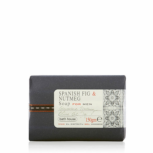 Bath House Spanish Fig and Nutmeg soap
