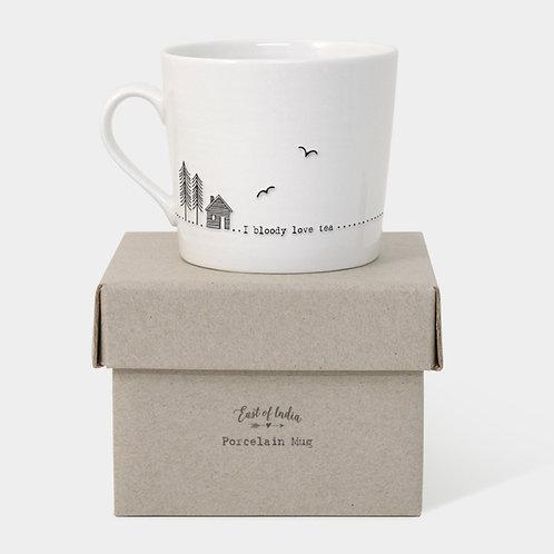 East of India Tea mug