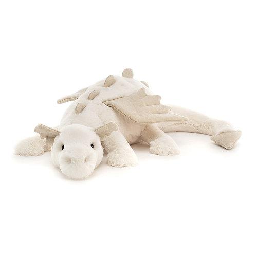 Jellycat Snow Dragon cuddly toy