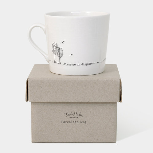 Prosecco in Disguise Porcelain Mug