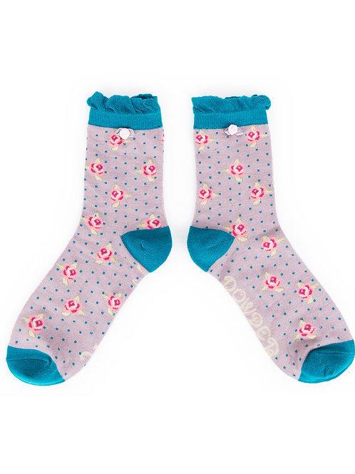 Powder Design RosebudAnkle Socks Lilac