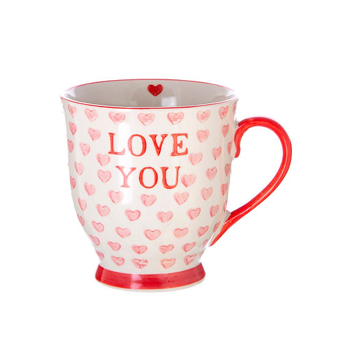 love you gift mug by sass and belle
