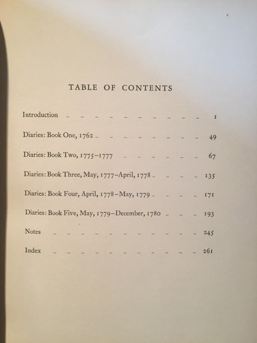 Archibald Robertson Diaries and Sketches 1762 - 1780