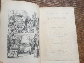 Alice's Adventures in Wonderland by Lewis Carroll 1869