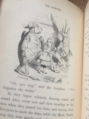 Alice's Adventures in Wonderland by Lewis Carroll(signed)- 1869