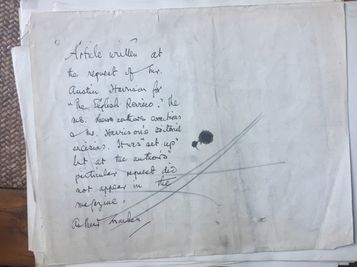 Quomodo Sevet Sola Civitas by Arthur Machen