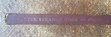 After Strange Gods by TS Elliot
