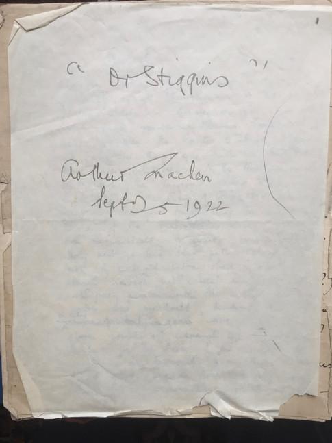Dr. Stiggins by Arthur Machen