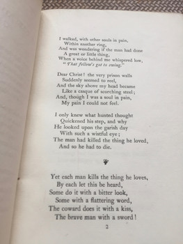 Oscar Wilde - Ballad of Reading Gaol