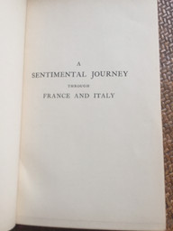 Sentimental Journey by Laurence Sterne Brentano's NY 1916