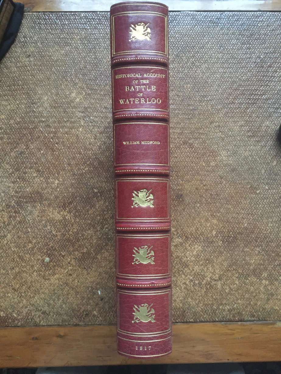 Historical Account of the Battle of Waterloo by William Mudford