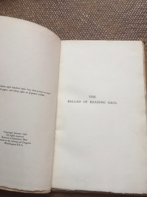 Oscar Wilde - Ballad of Reading Gaol