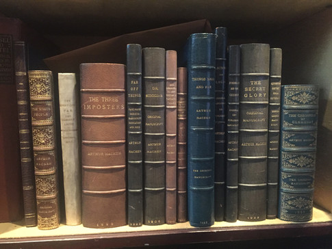 Arthur Machen original manuscripts