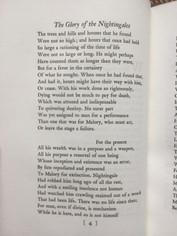 Glory of Nightingales - Edwin A. Robinson