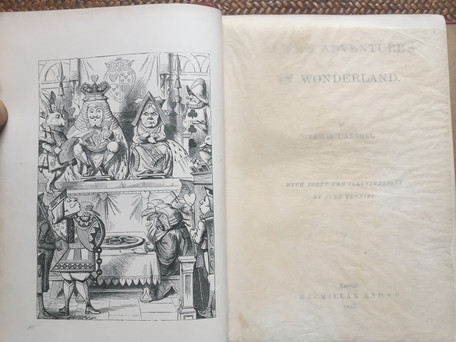 Alice's Adventures in Wonderland by Lewis Carroll