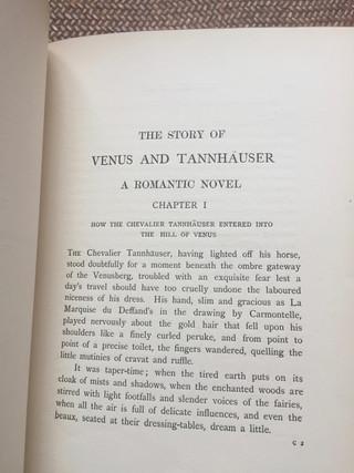 Venus and Tannhauser by Aubrey Beardsley