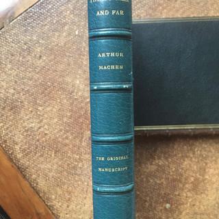 Things Near and Far by Arthur Machen