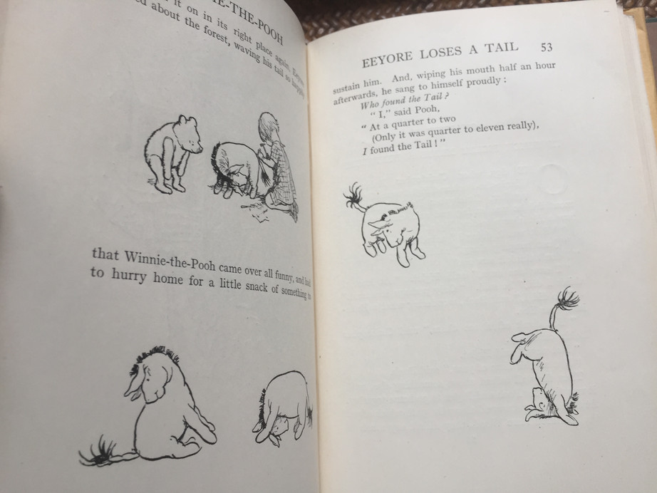 Winnie-The-Pooh by A.A. Milne, 1st Edition