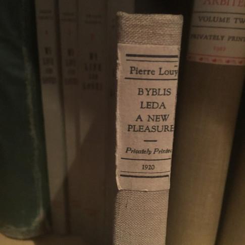 Byblis Ledaby, a New Pleasure Pierre Louys