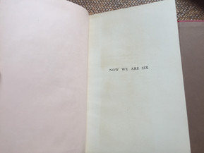 Now We Are Six by A.A. Milne (1st Edition)