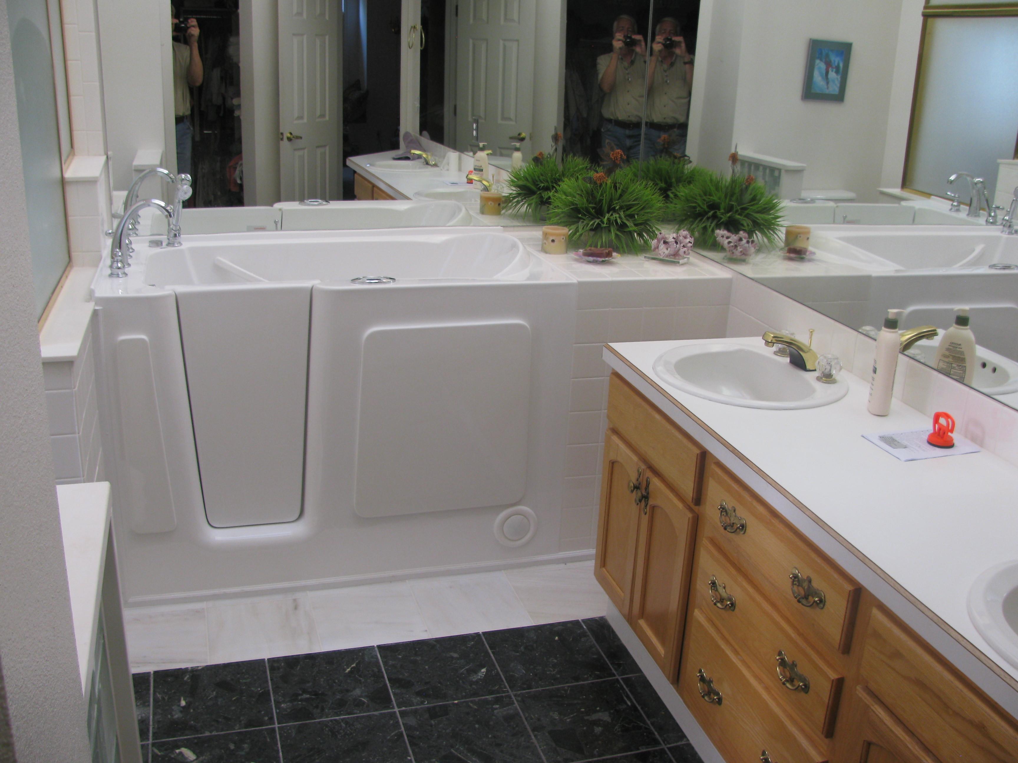 Walk-In Tub Install