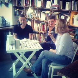 Hier noch ein Bild 😊 #lesung mit #andre