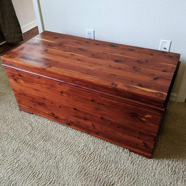 cedar chest restoration