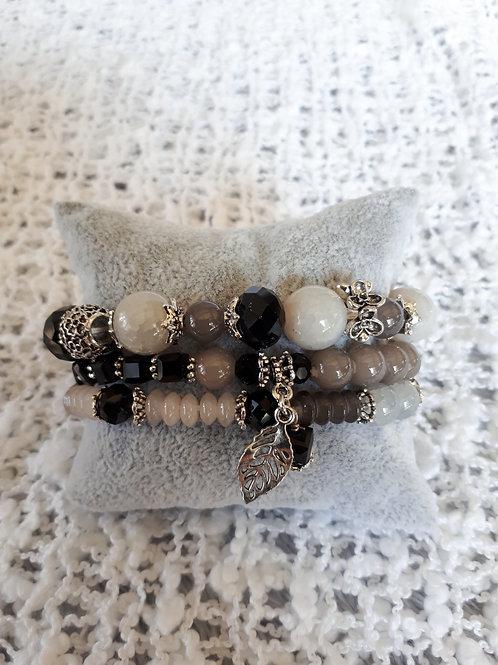 Black Strand Bracelet