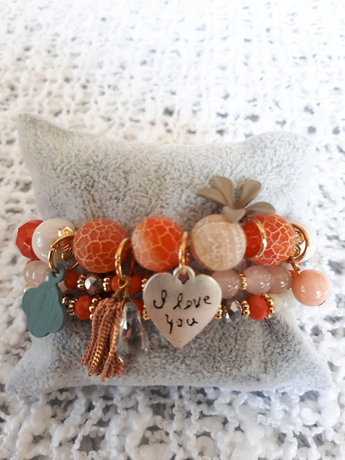 Rust Strand Bracelet