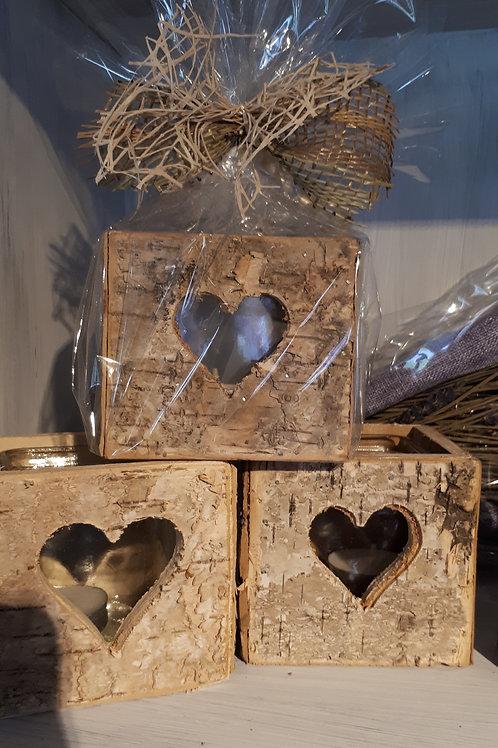 Birch Heart Vase