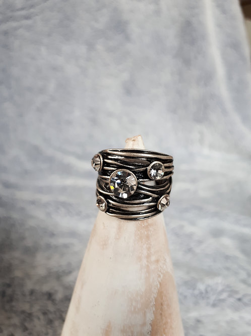 Branch Style Stretch Ring