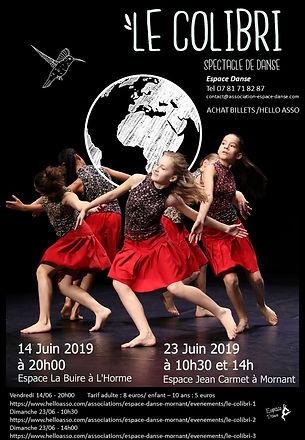 Espace Danse Mornant Spectacle 2019