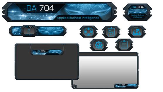 DA 704 Theme Graphics