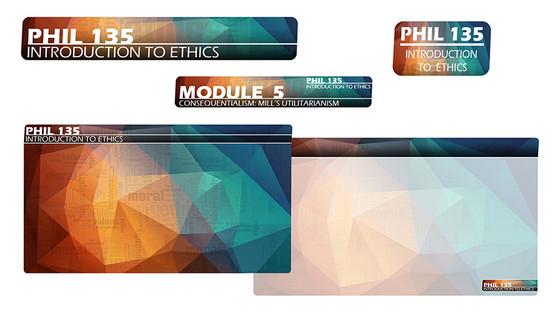 PHIL 135 Theme Graphics