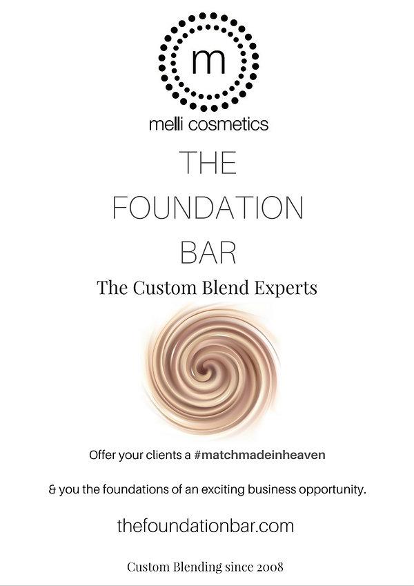 custom blend foundation
