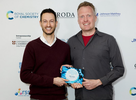 Rosa Biotech win award at the Royal Society of Chemistry Emerging Technologies competition