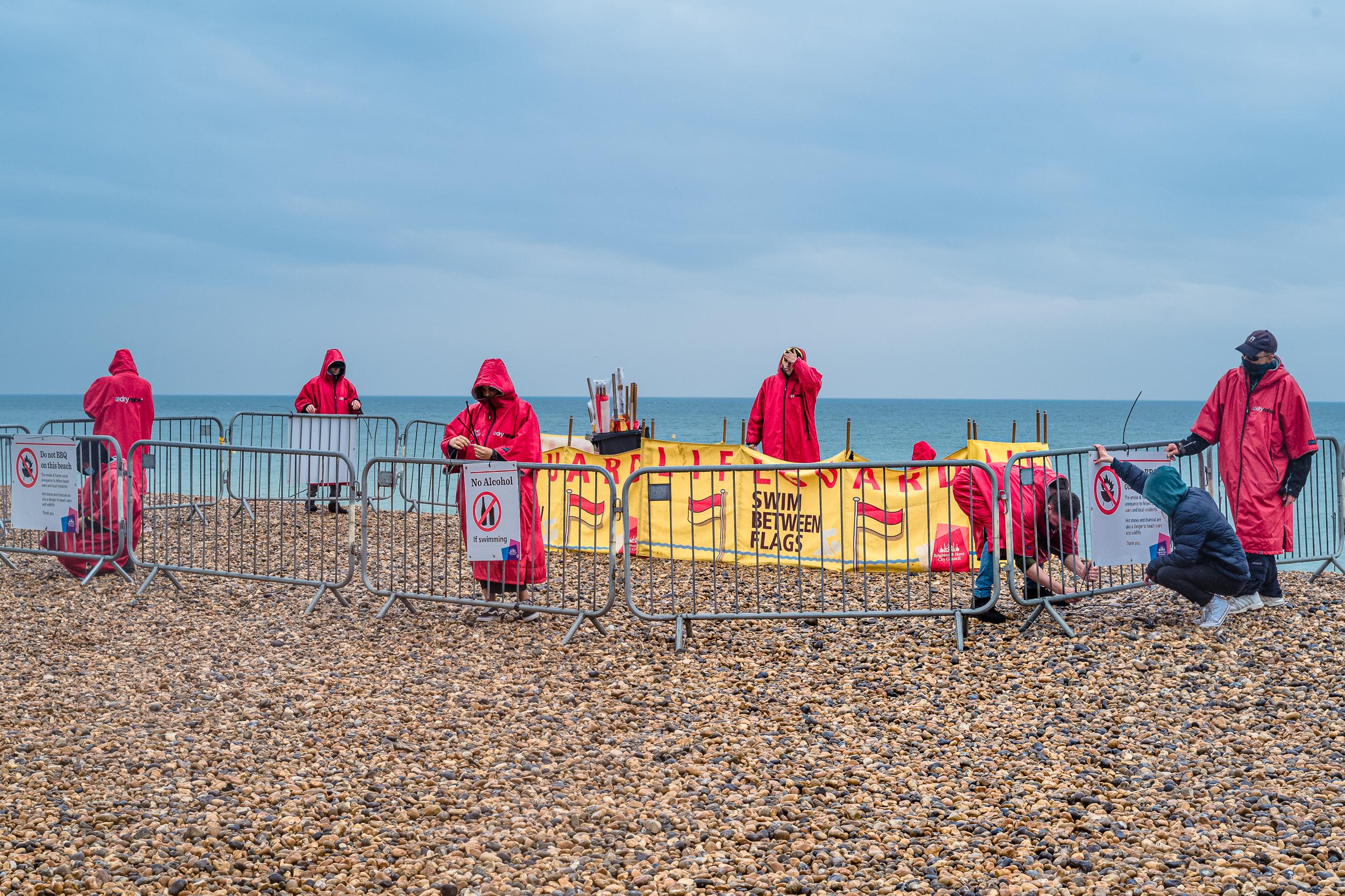 Beach re-opening